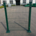 2015 new decorative bending iron wire mesh fences with various colors