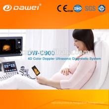 Nova tecnologia de ultra-som scanner de ecrãs digitalizador de cor doppler ecografos com preço de mão livre & 4D USG