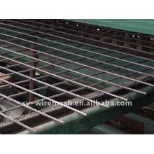 Fabrication d'un maillage de béton en acier supérieur