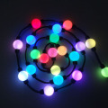 Outdoor Digital RGB Led String led ball light