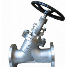 Y-Type Bb Ss CS Flanged Globe Valve