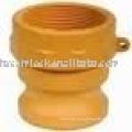 Nylon fire hose coupling type A