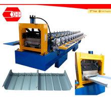 Machine de formage pour toiture à coutures droites et coniques