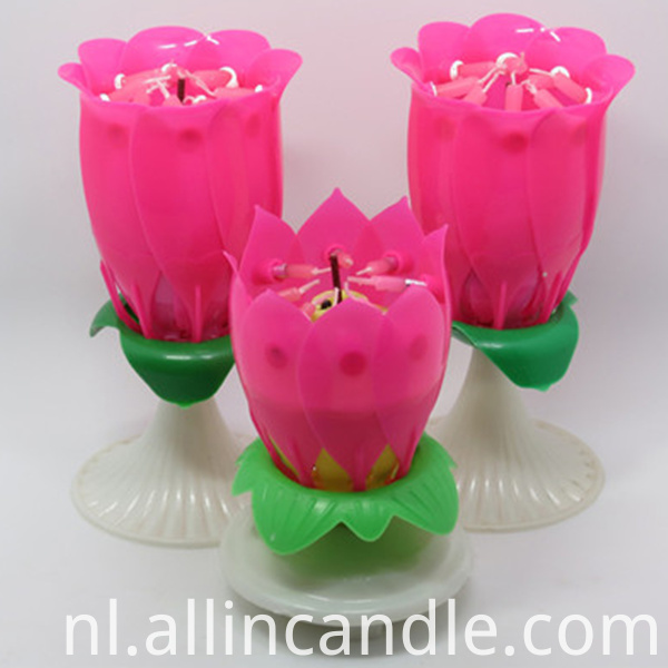 Lotus Fireworks Candle