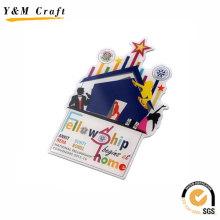 Fashionable Color Filled Fridge Magnet for Tourism Craft