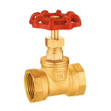 brass stop valve globe valve with manual hand wheel