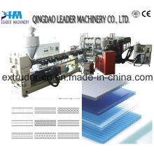 PC Cross Section Sheet Extrusion Line Machine