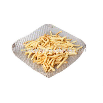 PTFE Coated No Mess For Crisp Chips Non-stick Oven Basket