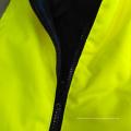 Algodón wadded chaleco reflectante de seguridad para el invierno