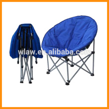 100% polyester round padding moon chair