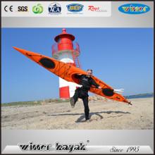 Nouveau HDPE unique assis dans la fabrication de la vie de loisirs océaniques Personnaliser le kayak