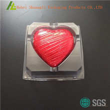 BOPS Heart shape plastic chocolate gift boxes packaging