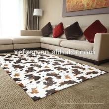 Wholesale alfombra de piel de vaca de imitación