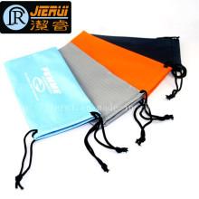 Китай фабрика Дешевые Цена Ткань сумка Microfiber сумка очки сумка