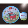Custom Full Color Printed Polyester Frisbee W/ Pouch
