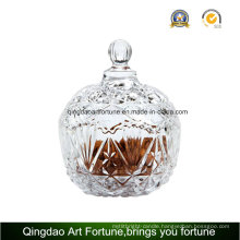 Glass Jar Storage Bottle with Lid for Decoration Factory