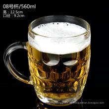 ISO-zertifizierter Glasbierbecher / Bierkrug / Bierglas
