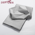 High Quality Hotel Bedding Linen Supplier 100% Cotton60s Plain gray Bed Sheets Set