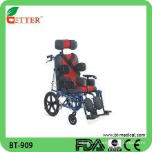 Chaise roulante pour enfants de luxe de haute qualité
