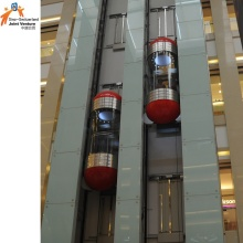 Ascenseur panoramique à économie d'énergie