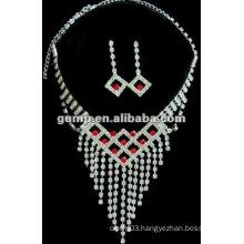 Latest bridal wedding jewelry set (GWJ12-477)