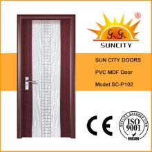 Latest Design Popular PVC Door (SC-P102)