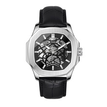 Custom Design Automatic Skeleton Watches for Man