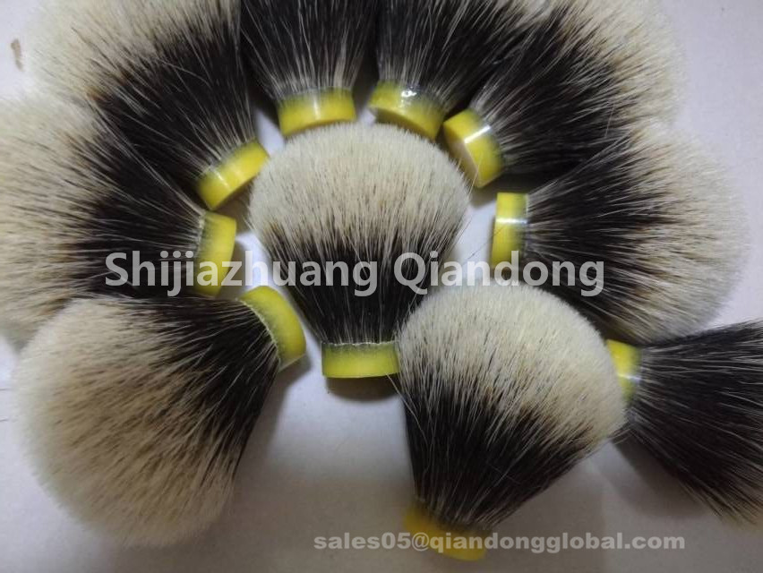 Bulb Shaped Shaving Brush Head for sale