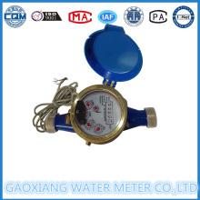 Многоструйный латунный импульсный измеритель уровня воды