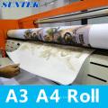100GSM A4 A3 T-Shirt Sublimation Heat Transfer Sublimation Rollenpapier