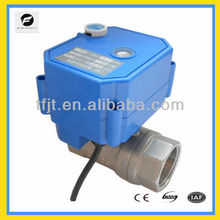 "1"" 110VAC reduce port motorized valve with manual override function to reuse of rainwater and reuse of grey water system"