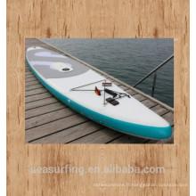 Nouvelle Arrivée ~ belle conception argent Pad gonflable SUP Paddle Board vente dans la nouvelle saison / en gros gonflable sup paddle board