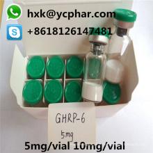 99,9% Hormone injectable 5mg 10mg de peptide humain de croissance de Ghrp-6 (croissance)