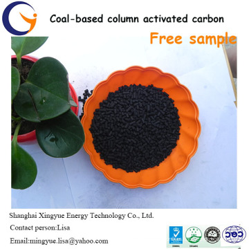 Columna competitiva a base de carbón de 1,5 mm de precio de carbón activado por tonelada