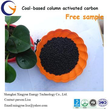 Preço competitivo de carbono ativado com base em carvão de 1,5mm por tonelada