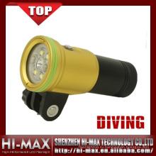 Хорошее качество подводного погружения привело видео свет для камеры Gopro