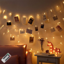 Wholesale Led Metal Photo Clip String Lights