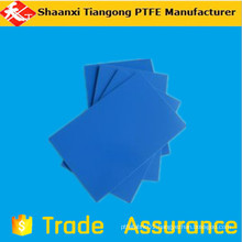 blue sheet/ptfe powder blue polycarbonate sheet