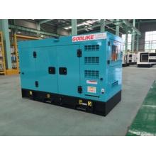 Китай дизельный генератор 12kw/15kVA комплект /gensets с Звукоизоляционная сень