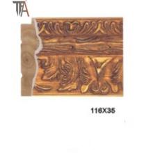 High Copy Marmoration Molding Wood Curtain Frame