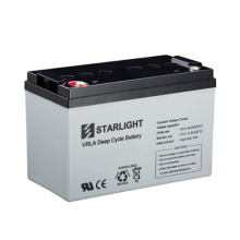 12V DC12-100S VRLA Deep Cycle-Batterien