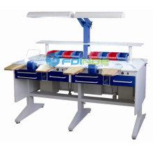стоматологическая мебель стоматологическая верстак (название модели:ЛТ-2) --стоматологические установки--