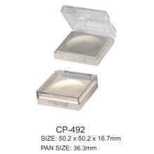 Square Plastic Compact Case Cp-492