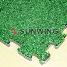 Sunwing artificial grass puzzle mat tile for sport field