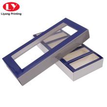 Boîte-cadeau personnalisée avec emballage à fenêtre transparente