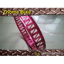 Vélo cyclo-pièces Rim/Alloy Rim/Double Wall/complexe en forme de perforé Rim Rim/graisse