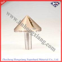 Outil de chanfreinage en verre à faux diamant