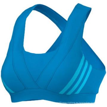 Nuevo diseño Yoga Bra, sujetador deportivo, sujetador deportivo de la fábrica de China, desgaste de las mujeres