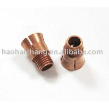Pin de aço inoxidável do contrapino do CNC da braçadeira de tubulação com serviços do OEM
