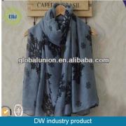 Nieve de señora de moda por mayor de pashmina bufanda bufanda impresa